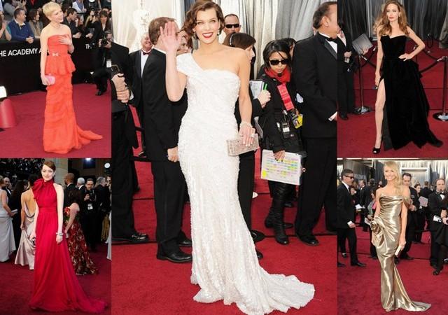Вижте най-добре облечените звезди на наградите Оскар!