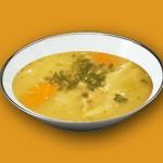 Пилешка супа с моркови и ориз
