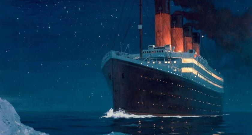 """Вижте рецептите, приготвени на """"Титаник"""", часове преди потъването му!"""