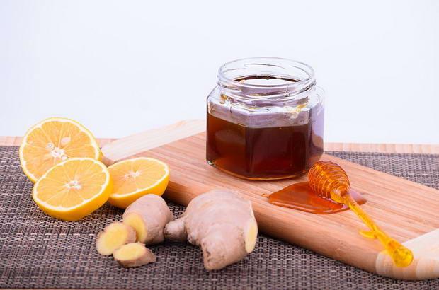 мед и джинджифил
