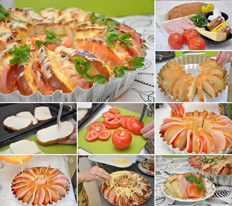 Хляб и домати