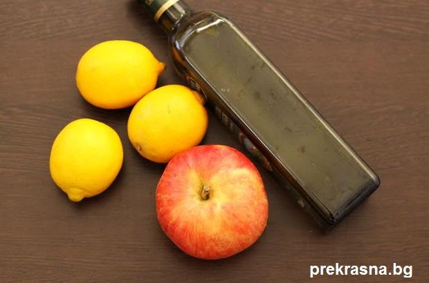 лимони зехтин