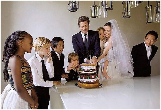 brandjelina svatba