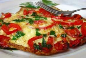 omlet s chushki
