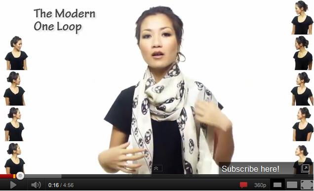 25 интересни начина за връзване на най-обикновен шал (ВИДЕО)