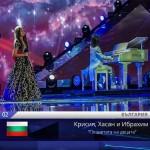 Детето-чудо Крисия втора на Евровизия! (СНИМКИ + ВИДЕО)