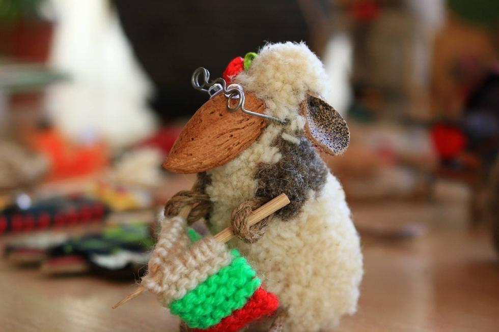 Дървена овца