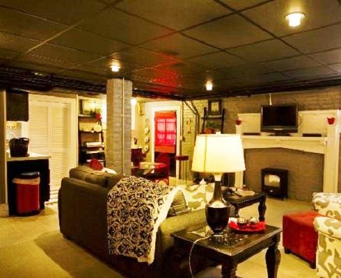 Как да превърнем мазето в романтичен кът за гости?