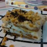 Много вкусна торта с банани